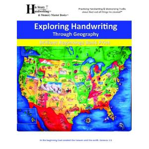 Exploring Handwriting Through U.S. Geography Image